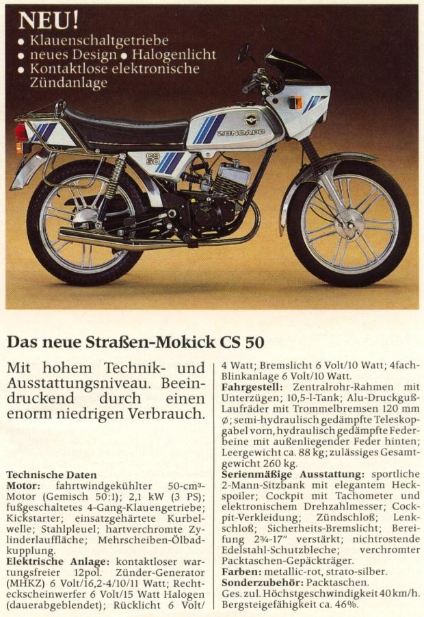 Zundapp CS50 - 1984 Moped (410080339) ᐈ Köp på Tradera